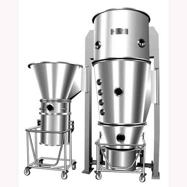 实验室流化床干燥机_流化床喷雾造粒干燥机的工作原理和干燥过程-常州范群干燥机 ...